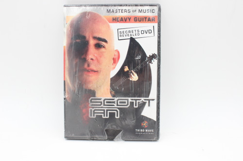 Masters of Music Heavy Guitar Secrets Revelaed DVD by Scott Ian