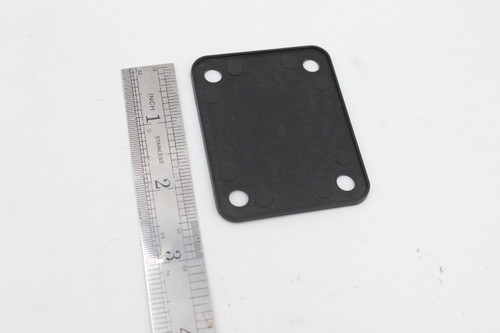 Black Plastic Neck Plate Seat