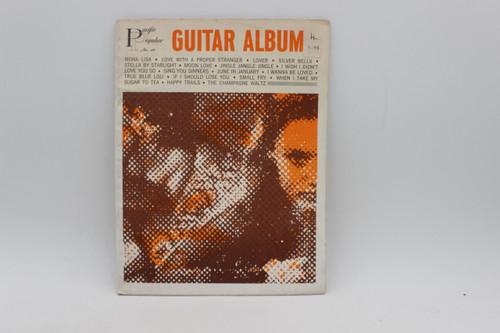 Pacific Popular No. 49 Guitar Album Sheet Music Collection