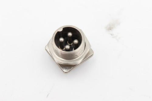 Amphenol 4 Pin Vintage  Male Jack w/ Square Base