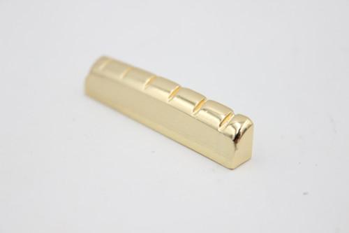 Brass Gold LP Guitar 43mm Nut, 6.4mm Spacing