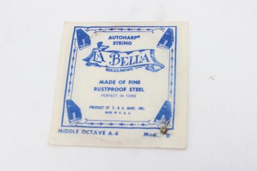 Vintage Single La Bella AutoHarp String