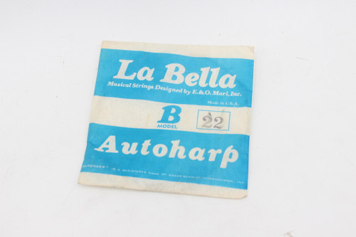Vintage Single La Bella AutoHarp String - B Model -  Decoration Only