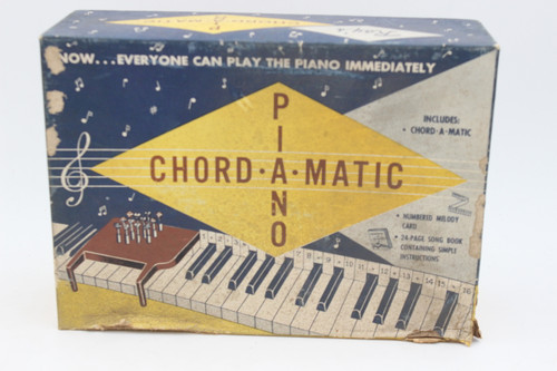 Piano Chord-A-Matic Vintage Music Instruction Box (ONLY BOX)