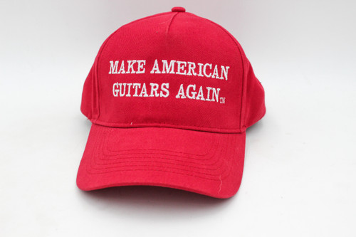 Make American Guitars Again - Awesome Ironic MAGA Hat!