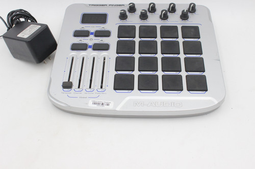 M-Audio Trigger Finger MIDI Controller with Pads & Power
