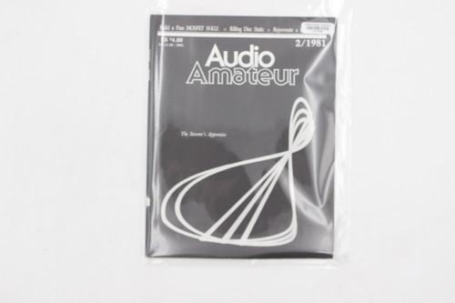 Audio Amateur No. 2 1981 Vintage Amp Magazine