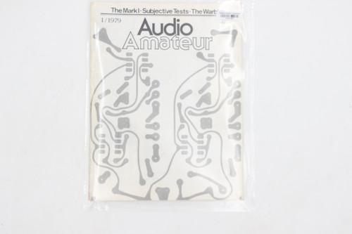 Audio Amateur No. 1 1979 Vintage Amp Magazine (Mark I, Subjective Tests, Warbler)