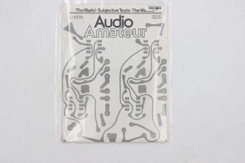 Audio Amateur No. 1 1979 Vintage Amp Magazine (Mark I,Subjective Tests, Warbler)