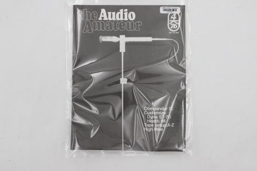 Audio Amateur No. 4 1976 Vintage Amp Magazine (Compandor IC, Dyna ST-70, Heath )
