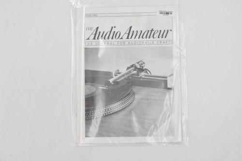 Audio Amateur No. 4 1982 Vintage Amp Magazine