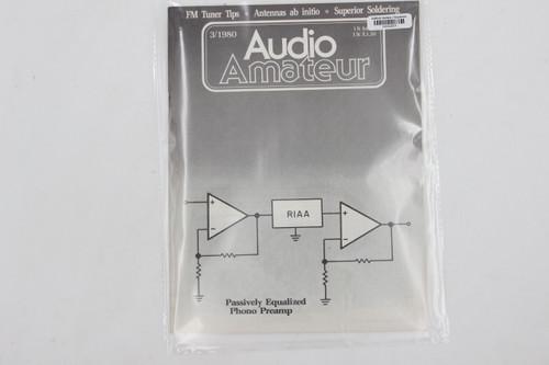 Audio Amateur No. 3 1980 Vintage Amp Magazine (FM Tuner Tips, Antennas)