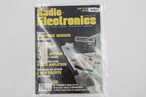 Radio-Electronics Vintage Audiophile Magazine Mar. 1983