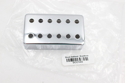 12-Hole Chrome Humbucker Guitar Pickup Cover 52mm Spacing