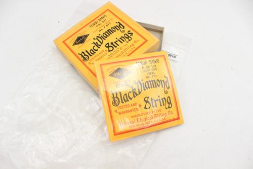 Vintage Black Diamond Tenor Banjo Strings No.F577 NOS -  for show only