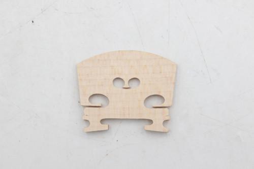 Violin Bridge 1/8 Size Maple Wood (Brand New)