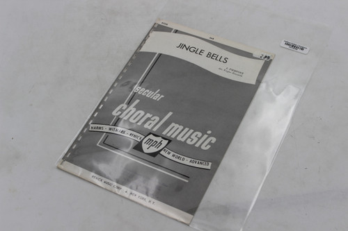 Remick Music Corp. Jingle Bells Secular Choral Music Harms Whitmark Remick New World Advanced