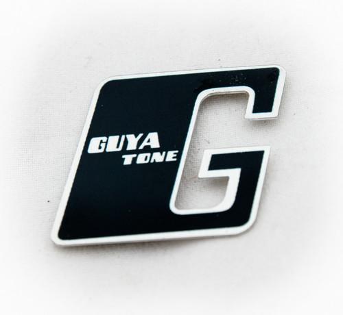 "Guyatone ""G"" Headstock Logo Badge, Authentic Guyatone Product for Vintage Guitar"