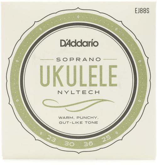 D'Addario Nyltech Natural Nylon Ukulele Strings - Soprano