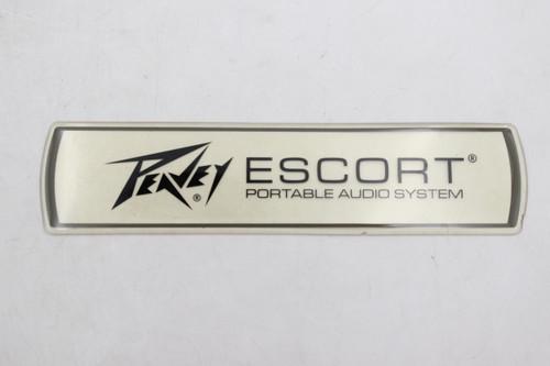 "Peavey Escort Portable Audio System 6"" Logo Badge"