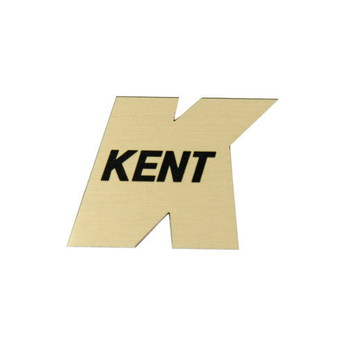 Kent Headstock Guitar Logo - NEW - Made in USA, by Guyatone