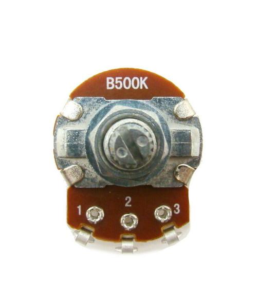 B500K ohm Guitar Pot 24mm Dia / 18mm Shaft - Tone Volume Potentiometer