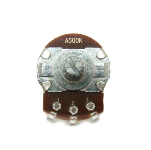 A500K ohm Guitar Pot 24mm Dia / 18mm Shaft - Audio Volume Potentiometer Condition:New