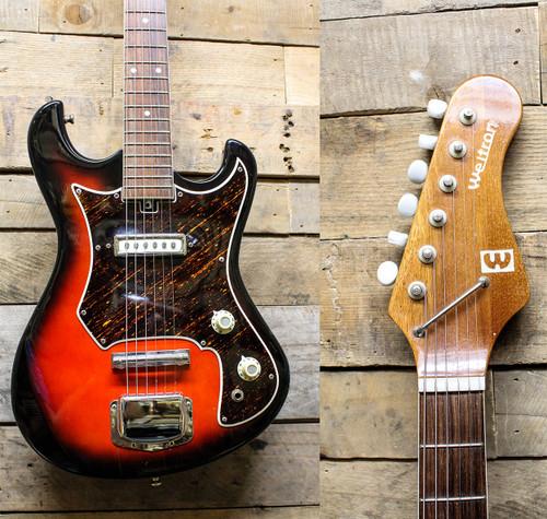 Weltron Vintage Kawai MIJ Electric Guitar