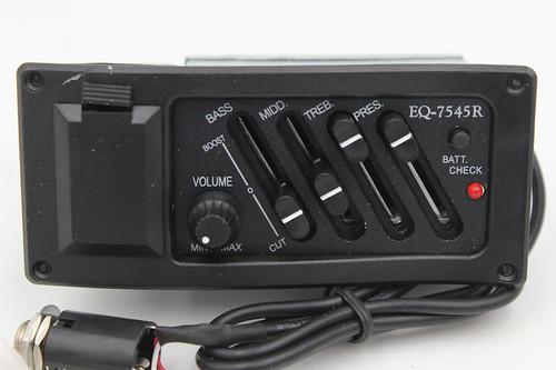 EQ-7545R w/ Piezo Pickup Acoustic Guitar Preamp
