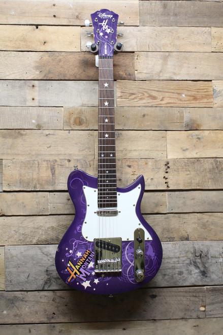 Hannah Montana Secret Star Short Scale Electric Washburn Guitar-Local PickupOnly