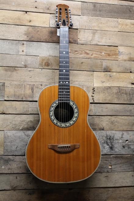 Ovation USA Vintage Folklore Model 1114-4 Josh White Signature Model Acoustic Guitar