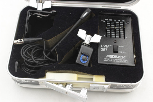 Peavey PVM 357 Drum And Instrument Microphone w/ case & papers