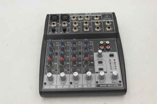 Behringer Xenyx 802 4-channel Analog Mixer w/ box