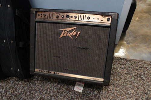 Peavey Ecoustic 112 100-Watt 1x12 Acoustic Instrument Amplification System - Local Pickup Only