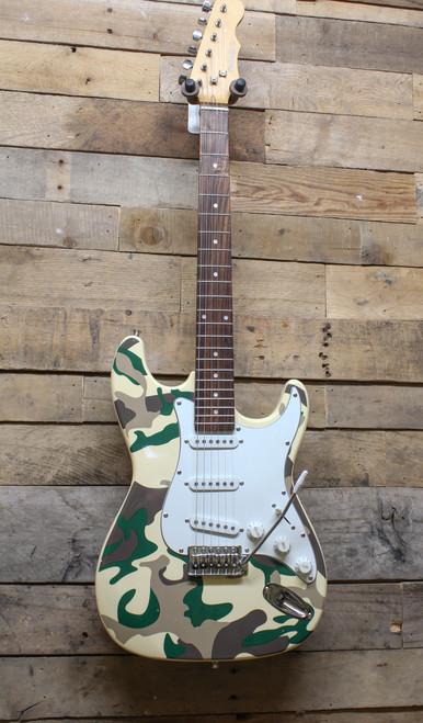 Mahar Camo Electric Guitar - Local Pickup, Oswego, IL Only