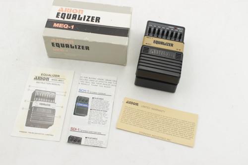Arion Equalizer MEQ-1 Vintage w/ Box - NOS - Guitar Effects EQ Pedal