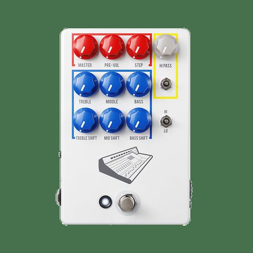 JHS Colour Box V2 PreAmp /EQ/OverDrive/Distortion/Fuzz Guitar Pedal - Authorized Dealer