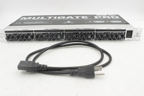 BEHRINGER MULTIGATE PRO XR4400 4-Ch Audio Interactive Quad Expander / Gate w/box