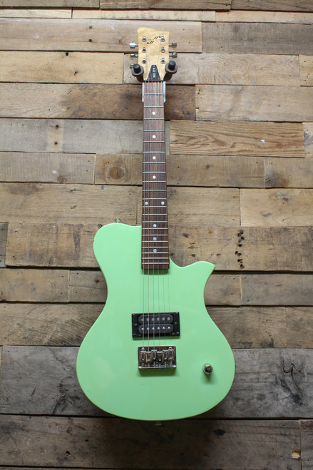 First Act Mint Green ME-219 Small Guitar. Quilt Neck- Local Pikup Oswego,IL ONLY