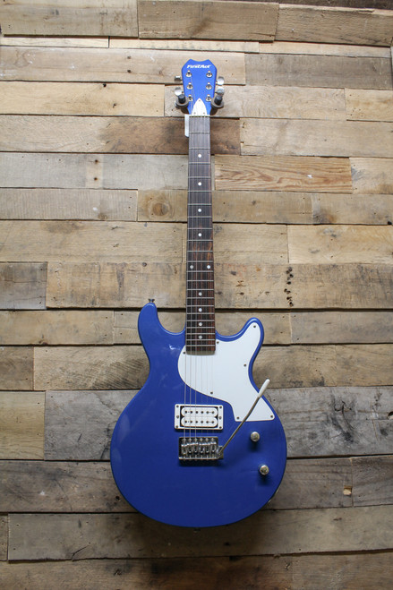 First Act Blue/White LP Style Double Cut Away Guitar- Local Pikup Oswego,IL ONLY