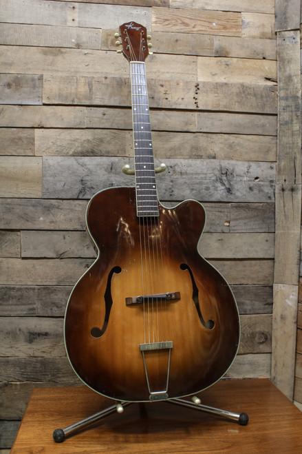 Kay K-1 Vintage 1950's Jumbo Archtop Acoustic Guitar - Slight Flamed Back