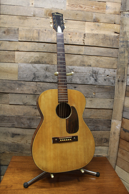 Harmony Vintage USA H-162 Flat Solid Top Acoustic Guitar