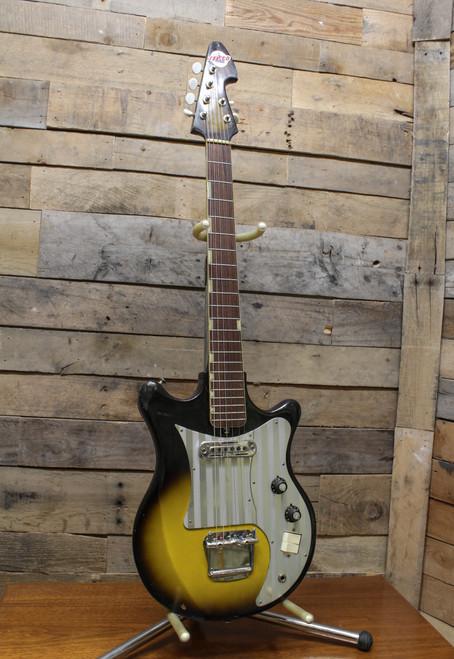Teisco ET-120 4x2 Headstock Vintage MIJ Electric Guitar
