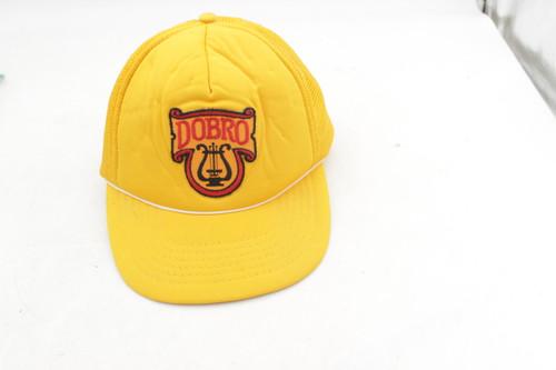 Dobro Guitar Vintage Yellow Baseball Cap, made in Japan