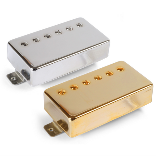 Golden Age Parsons Street Humbuckers, Neck Alnico 5, Gold Cover