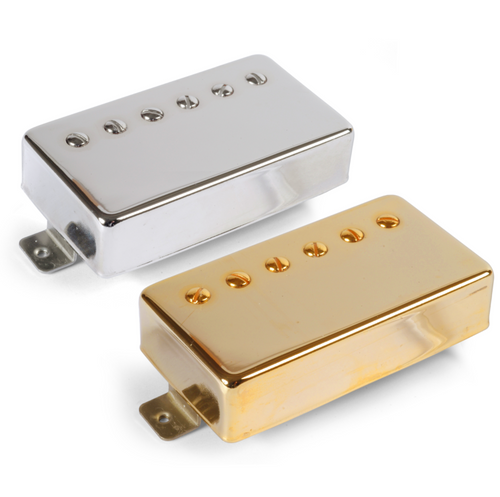 Golden Age Parsons Street Overwound Humbuckers Bridge Position, Gold Cover with Alnico 5 magnets