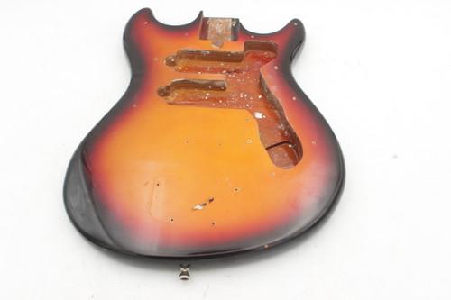 Harmony H-802B Vintage Electric Guitar Body
