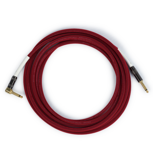 Runway Audio Instrument - Red Cable - Guitar, Bass 10 Ft, ST-RA