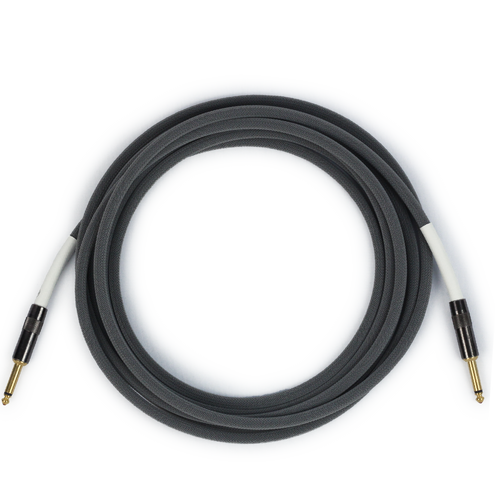 Runway Audio Instrument - Gray Cable - Guitar, Bass 10 Ft, ST-ST