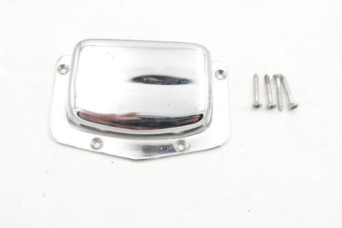 Harmony H802b Teisco Clamshell Tailpiece Original, OEM w/ screws